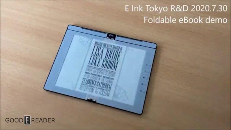 Tela de leitor digital flexível