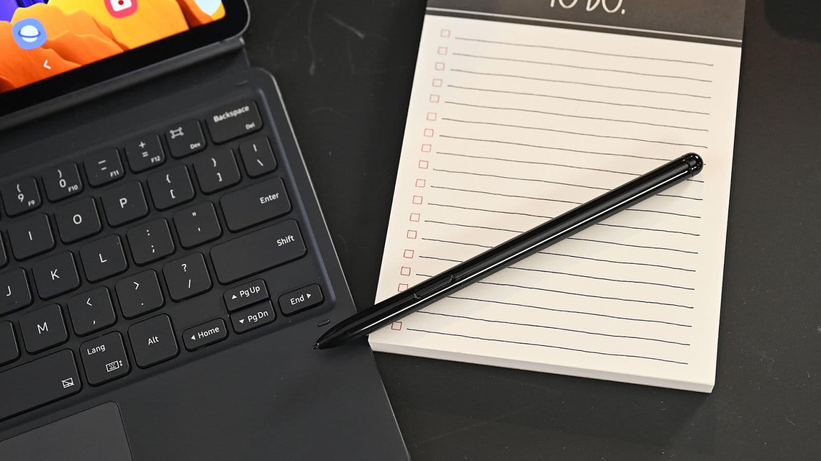 Destaque da S Pen, caneta stylus dos novos tablets da Samsung