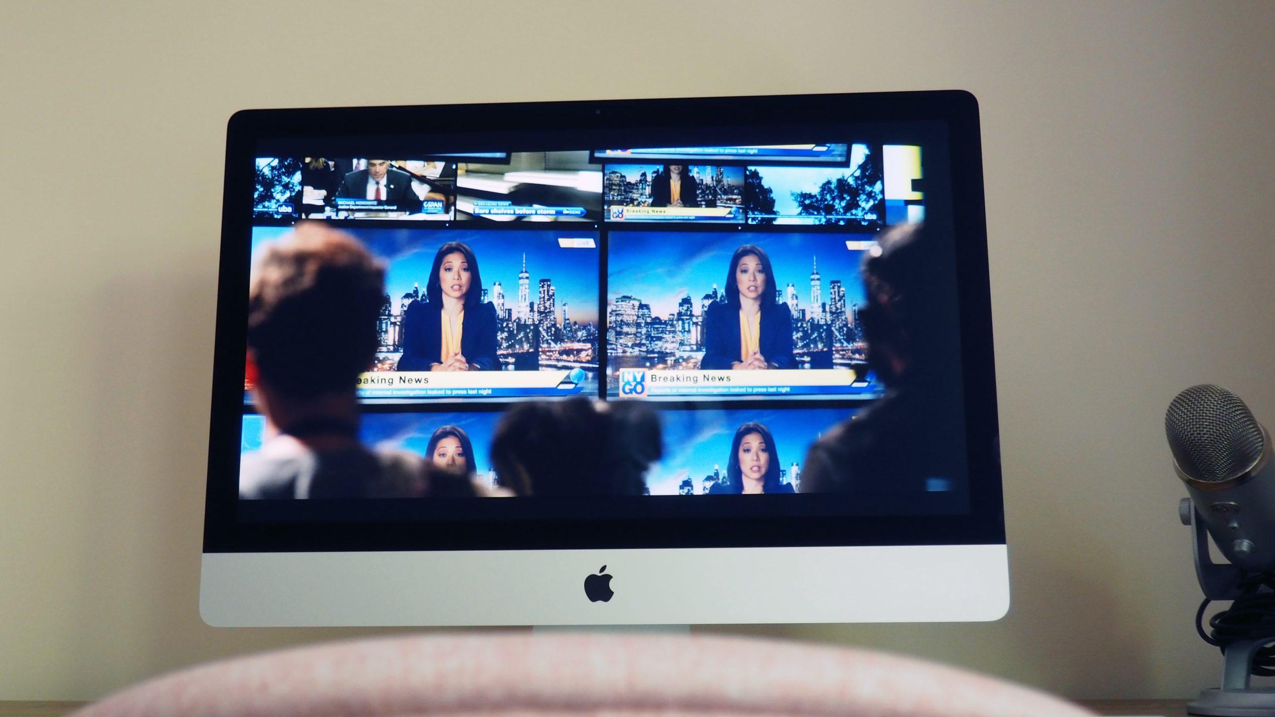 Olhar a tela de nano-textura do iMac é tão confortável que quero este tipo de tela em todos os dispositivos. iMac de 27 polegadas. Crédito: Caitlin McGarry/Gizmodo