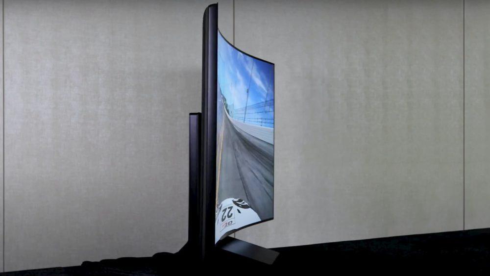 As telas das TVs em breve serão flexíveis, se depender da LG