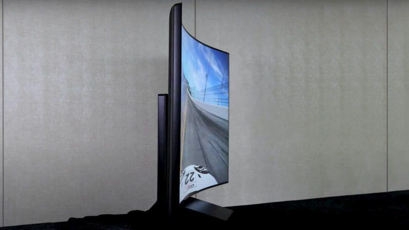 TV de tela flexível da LG