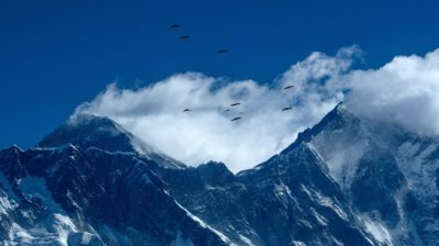 Monte Everest. Crédito: PRAKASH MATHEMA (Getty Images)