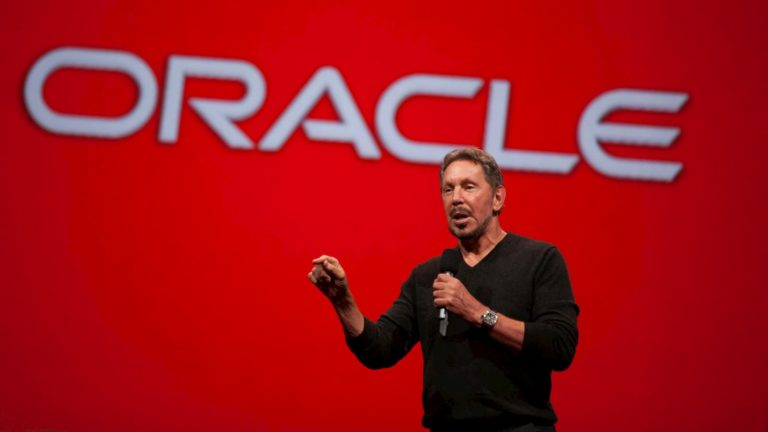 Larry Elison, fundador da Oracle. Crédito: Kimberly White/Getty Images