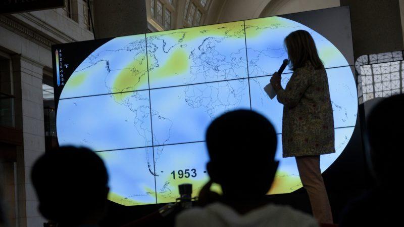 Terra ainda levará anos para se recuperar dos gases do efeito estufa. Crédito: Brendan Smialowski/AFP (Getty Images)