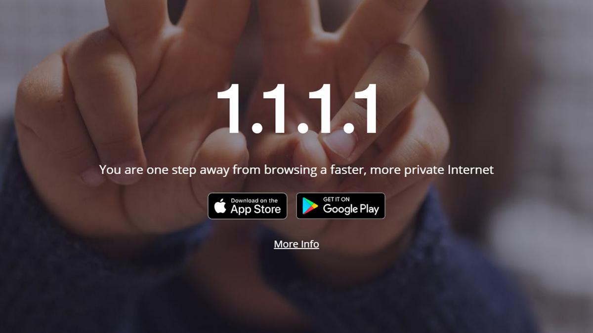 Tela para download do Cloudflare. Crédito: Captura de tela