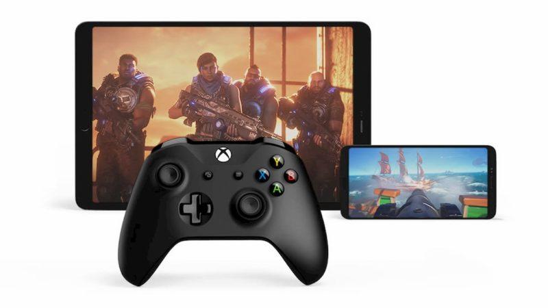 Imagem promocional de games do Xbox no Android