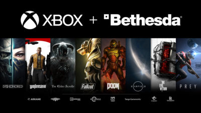 Microsoft compra Bethesda por US$ 7 bilhões. Crédito: Xbox