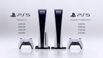Sony confirma preço do PS5. Crédito: Sony