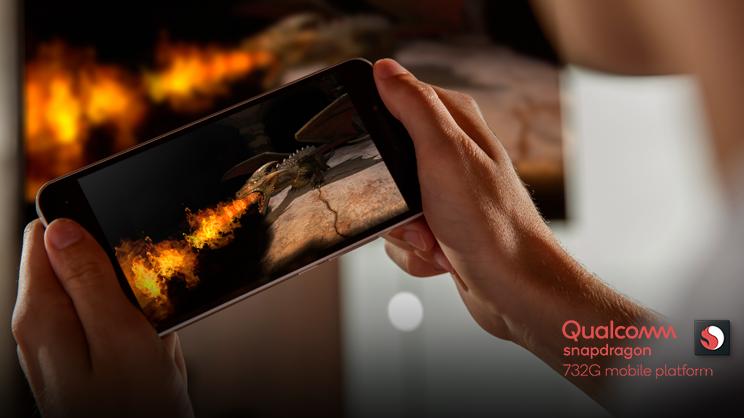 Qualcomm anuncia novo processador Snapdragon 732G. Crédito: Qualcomm