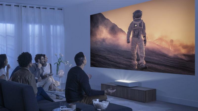 Samsung anuncia novos projetores 4K. Crédito: Samsung