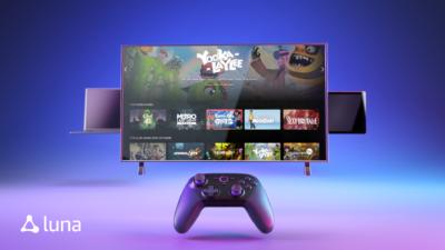 Amazon anuncia serviço de streaming de games Luna. Crédito: Amazon