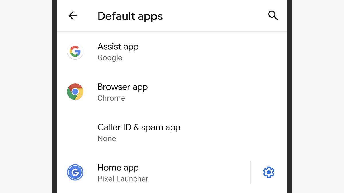 Recurso para escolha de apps padrão no Android 10