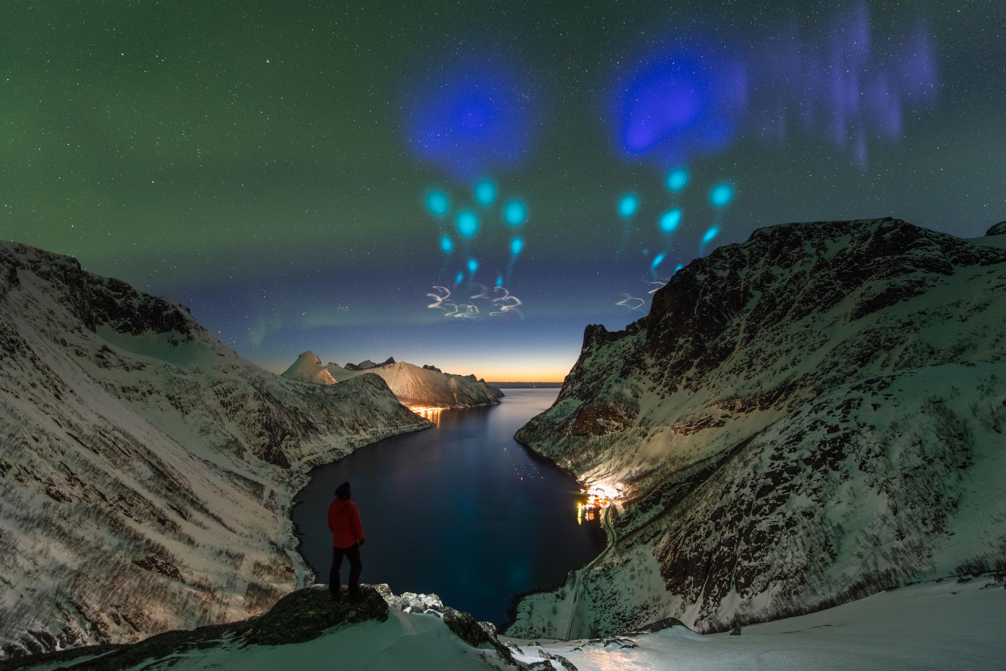 Uma imagem altamente elogiada da categoria pessoas e espaço. Imagem: Yang Sutie (China)
