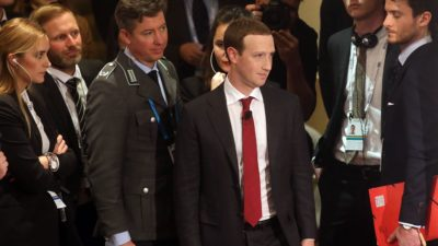 Mark Zuckerberg Facebook. Crédito: Johannes Simon (Getty Images)
