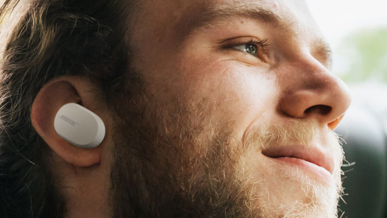 Fones True wireless QuietComfort, da Bose. Crédito: Bose