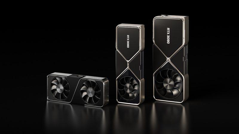 Novas placas gráficas da Nvidia. Crédito: Nvidia
