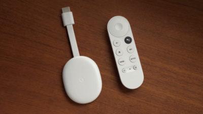 Google Chromecast com Google TV. Crédito: Google