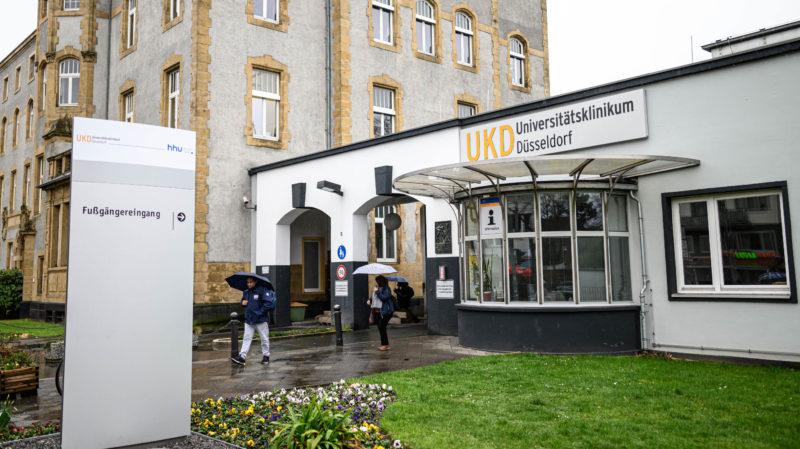 Clínica Universitária de Dusseldorf, na Alemanha, foi alvo de ransomware. Crédito: Lukas Schulze/Getty Images
