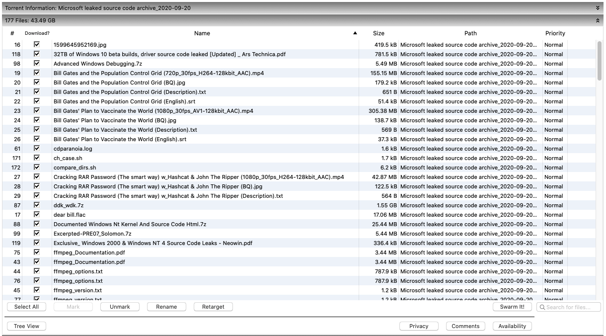 código fonte do Windows XP vaza na internet. Crédito: Gizmodo