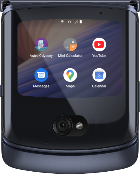 Moto Razr 2020 é anunciado. Crédito: Motorola