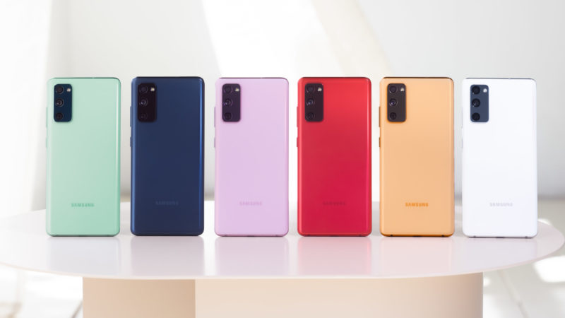 Samsung anuncia Galaxy S20 Fan Edition. Crédito: Samsung