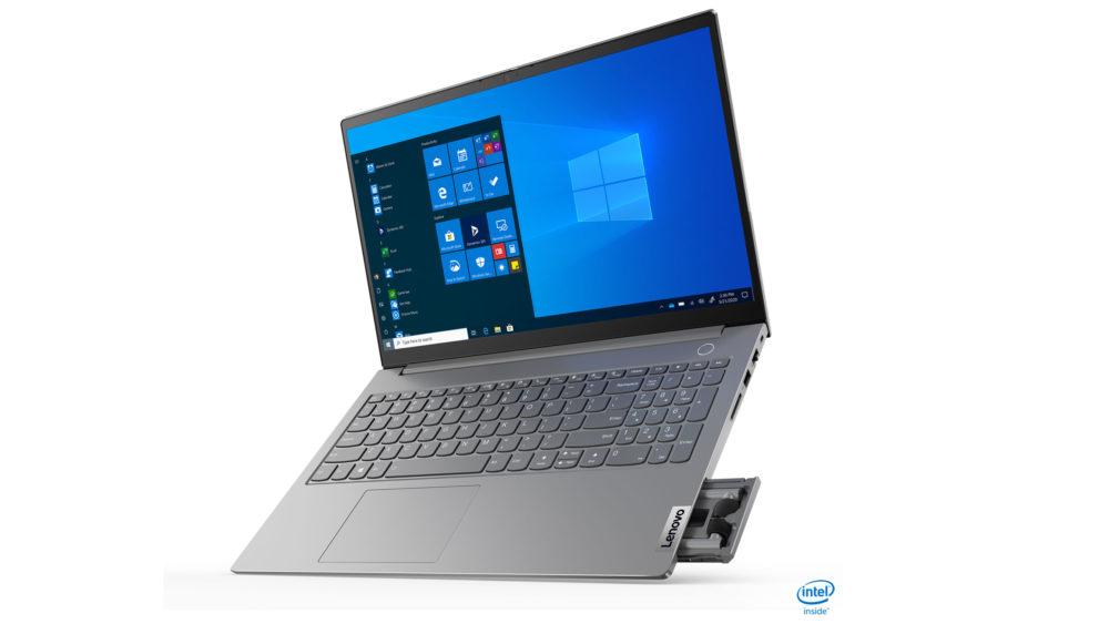 Novo notebook ThinkBook 15 Gen, da Lenovo, vem com fones de ouvido sem fio embutidos