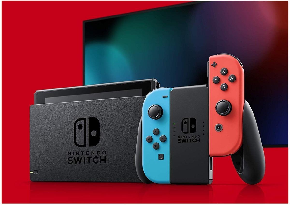 Nintendo Switch será lançado no Brasil. Crédito: Nintendo
