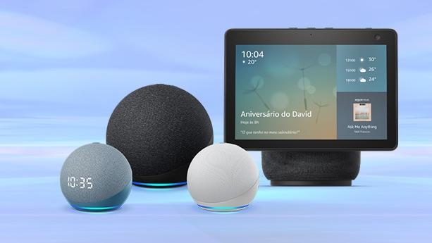 Novos dispositivos Echo lançados pela Amazon