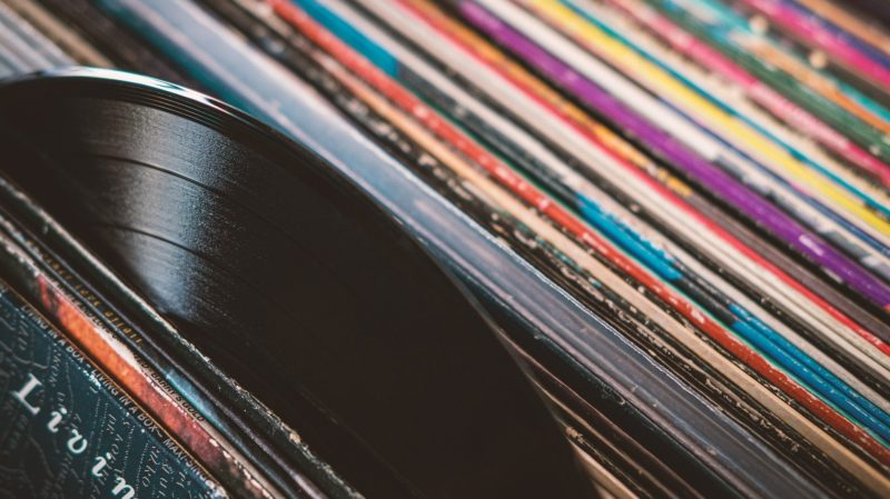 Discos de vinil. Crédito: Bruno Germany/Pixabay