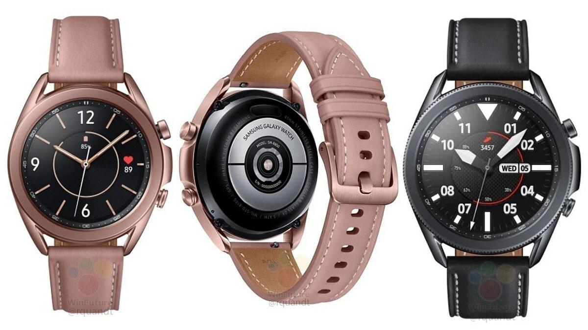 Samsung Galaxy Watch 3. Crédito: Samsung