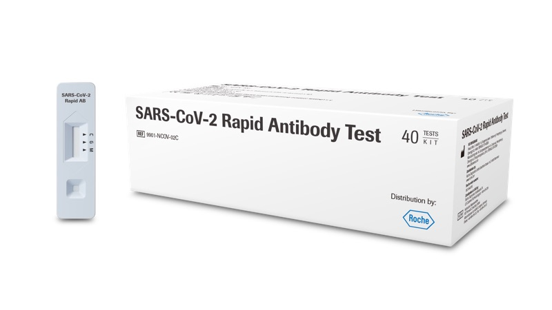 Teste rápido de COVID-19 da Roche; exames devem chegar ao Brasil em novembro