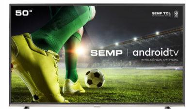 Semp TCL lança TV SK8300. Crédito: Semp TCL