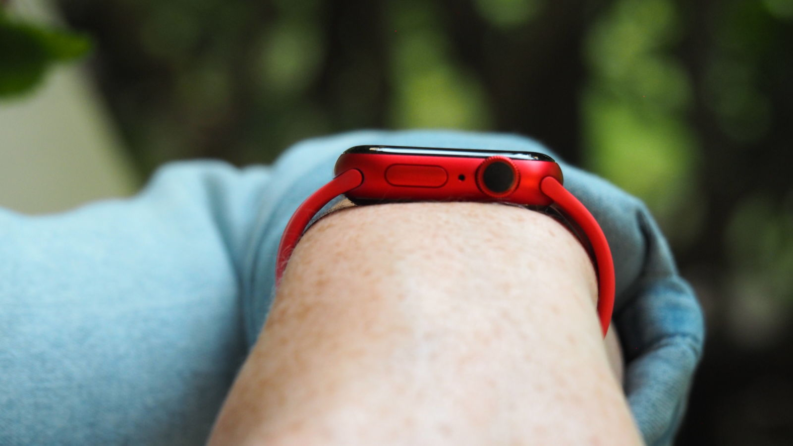 Apple Watch series 6 hands-on. Crédito: Caitlin McGarry/Gizmodo
