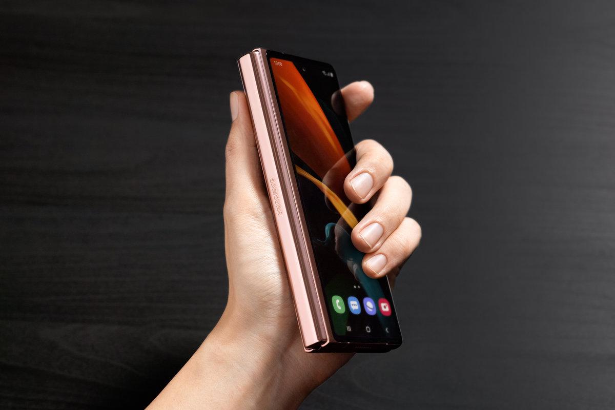 Samsung Galaxy Z Fold 2. Imagem: Samsung