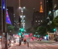Imagem noturna tirada com o Galaxy Note 20 Ultra