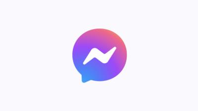 Facebook Messenger novo logotipo. Imagem: Facebook