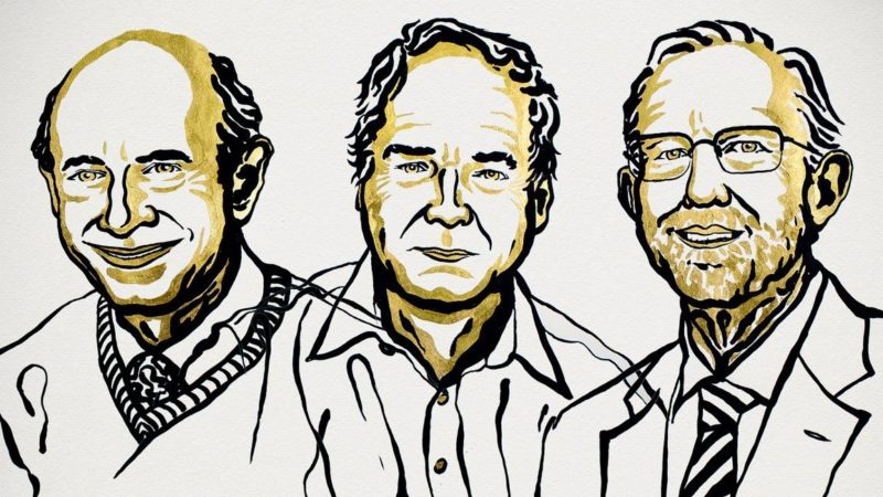 Vencedores do Prêmio Nobel de Medicina 2020. Imagem: Nobel