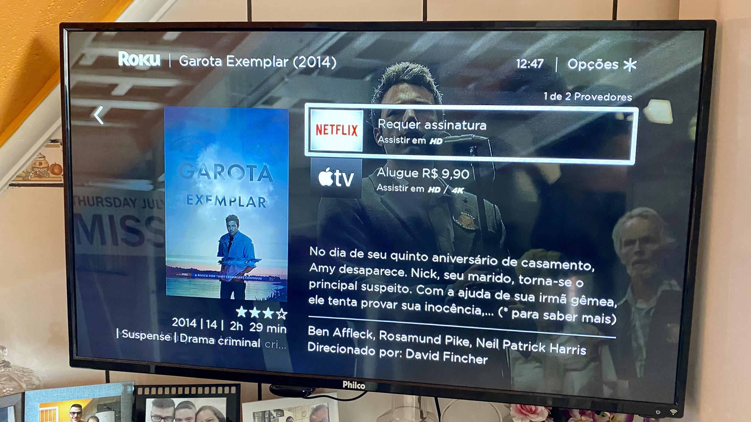 Roku Express Review. Imagem: Caio Carvalho (Gizmodo Brasil)