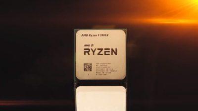 AMD Ryzen 5000 Zen 3. Crédito: AMD