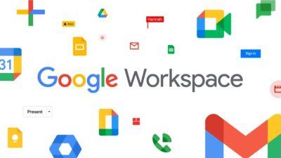 G Suite agora é Google Workspace. Imagem: Google