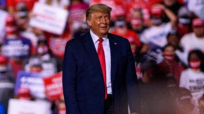 Donald Trump Presidente. Imagem: Melissa Sue Gerrits (Getty Images)