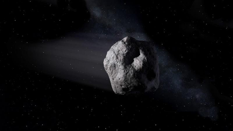 Asteroides. Imagem: NASA/JPL-Caltech