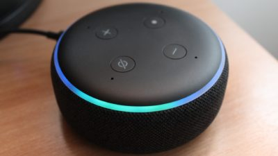 Amazon Echo Dot (3ª geração). Crédito: Lazar Gugleta/Unsplash