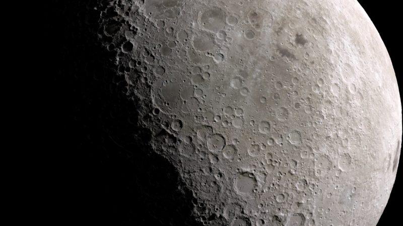 Lua. Crédito: NASA