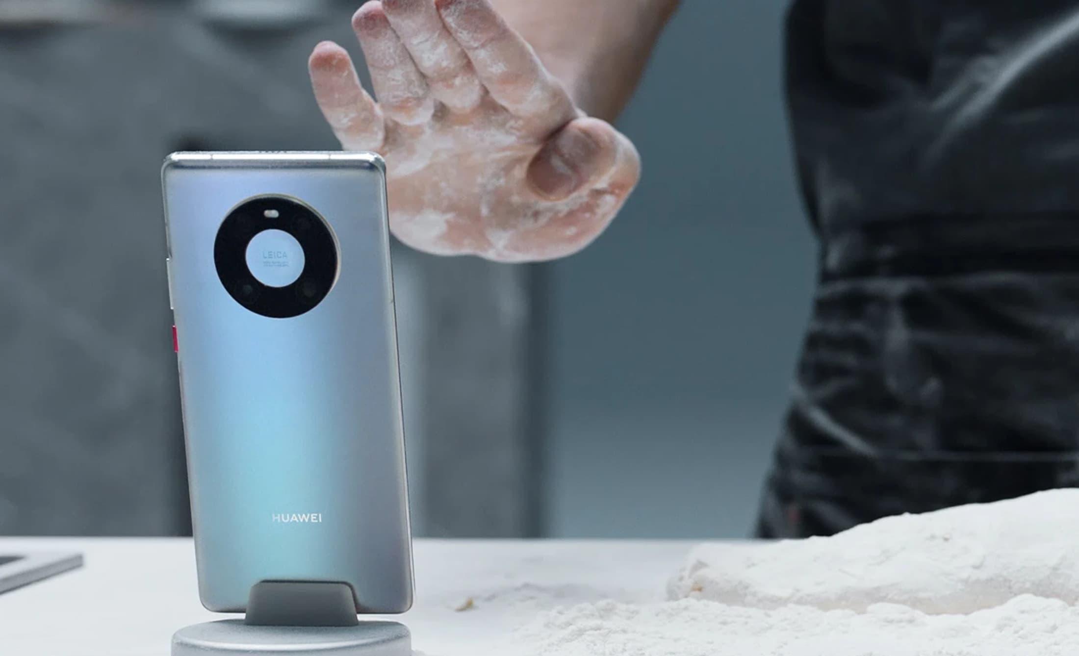 Controle por gestos do Mate 40, da Huawei