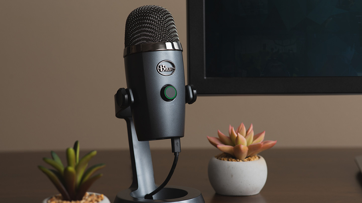 Microfone Blue