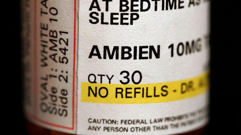 Ambien remédio zolpidem. Imagem: Tim Boyle (Getty Images)