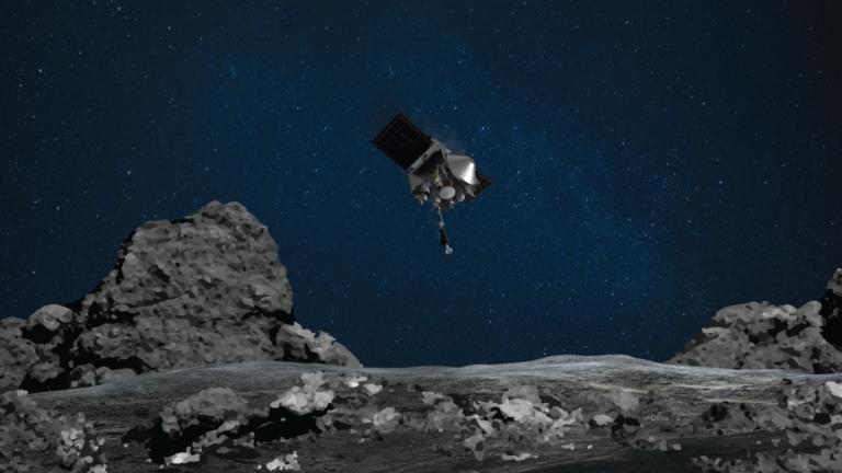 Sonda OSIRIS-REx, da NASA, consegue tocar e coletar amostras da superfície do asteroide Bennu