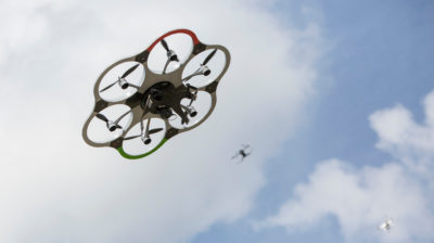 Drones. Imagem: Omer Messinger (Getty Images)