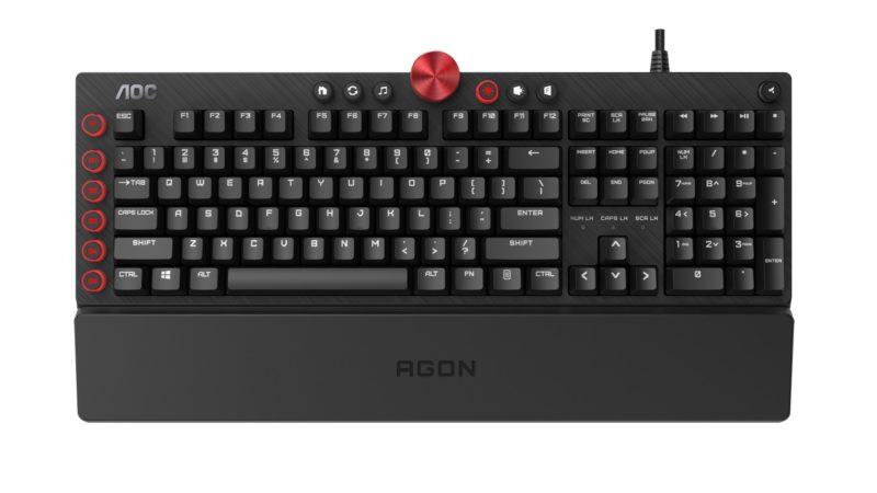 Teclado gamer AOC Agon AGK700